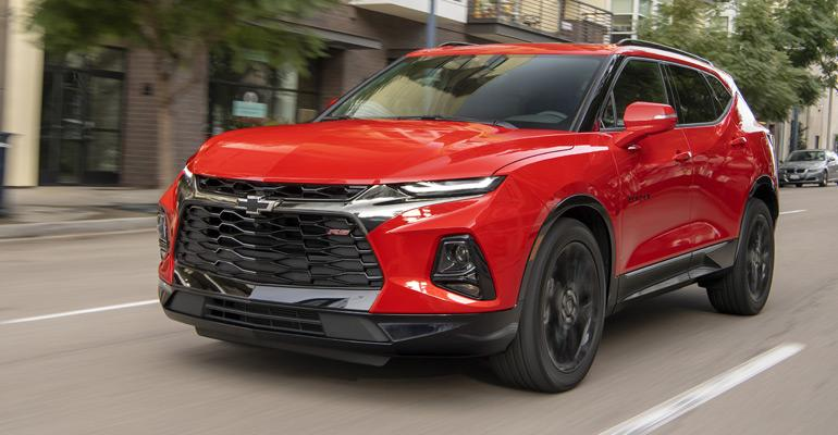 2019 Chevrolet Blazer RS.