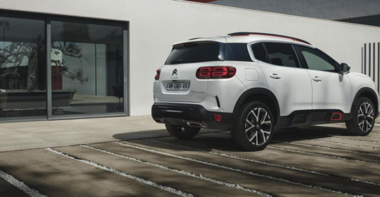 Citroen C5 Aircross on sale in Europe in September.