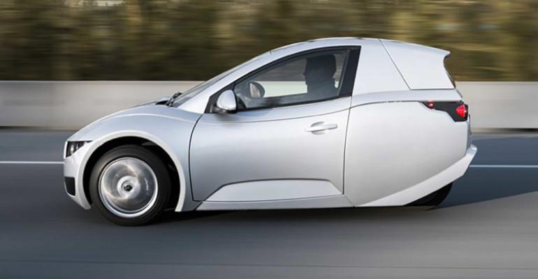 Electra Mecannica has sold 3-wheel Solo EVs in Los Angeles since 2018.