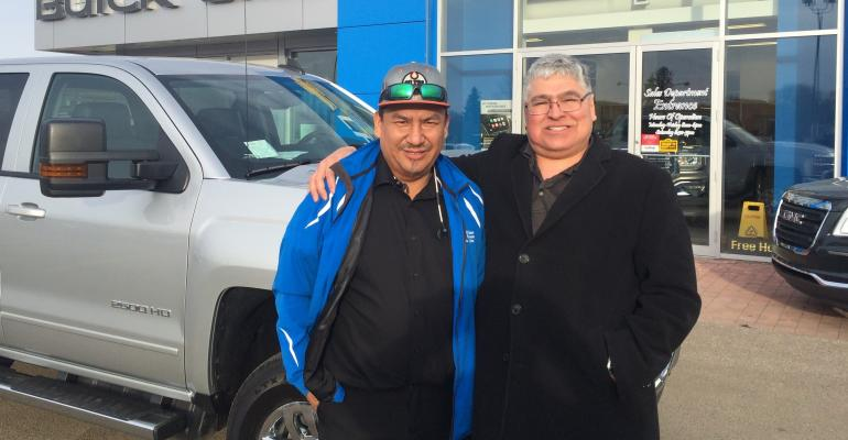 First Nation Auto dealership truck delivery.JPG