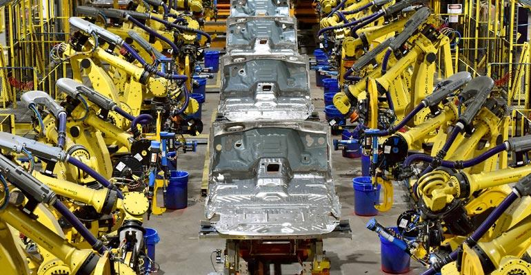 Ford increases line speed at Kentucky Truck Plant with $25 million in manufacturing enhancements.