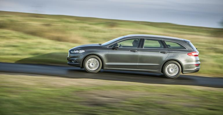 Station wagon among Ford's new generation of Mondeo Hybrid models.