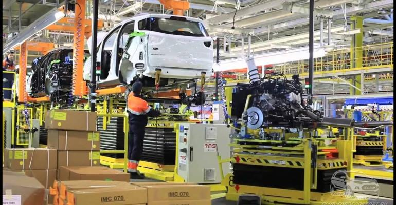 Ford's Russian JV suspends EcoSport production.