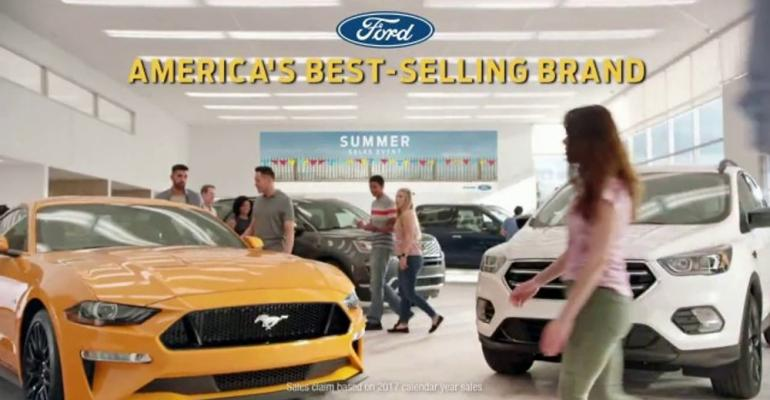 Ford spot garners most viewers among summer-sales-event ads.
