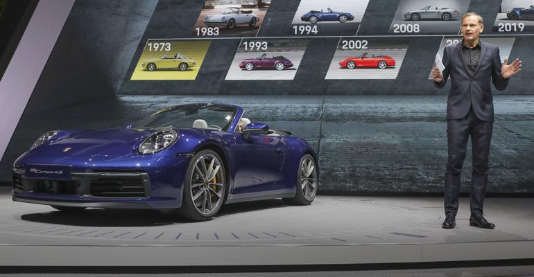 Geneva-Porsche Oliver Blume-911