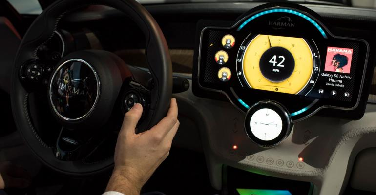Harman Mini HMI concept