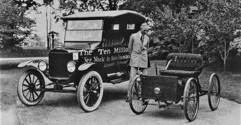 Henry Ford with Model T, Quadricycle.jpg