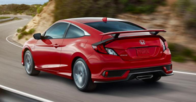 Civic best-selling car in California in first-half 2018.