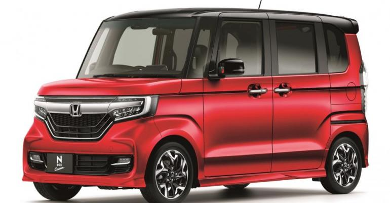 Honda N-Box mini-car topped Japan sales charts in 2018.