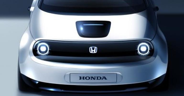 Honda confirms world premiere of new Urban EV prototype.