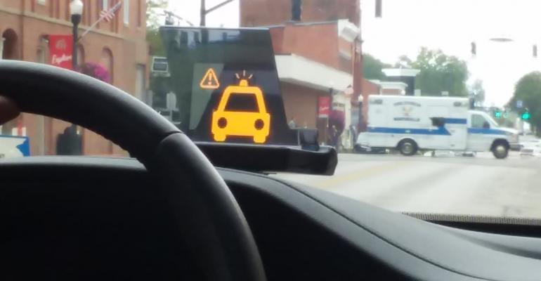 Honda smart intersection ambulance