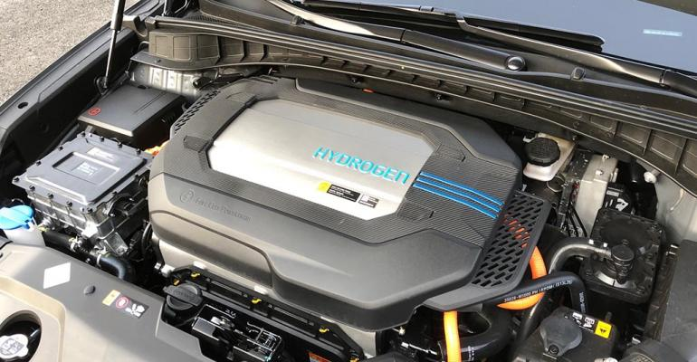 Freudenberg believed to supply fuel-cell stack for Hyundai Nexo.