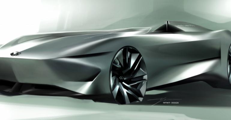 Infiniti teases Prototype 10 concept ahead of Pebble Beach reveal