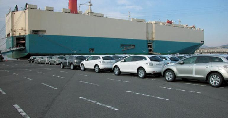 Japan taking wait-and-see attitude toward possible U.S. tariffs on auto imports.