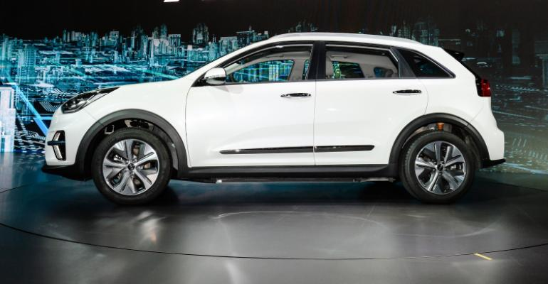 kia s california flavored niro ev debuts in korea wardsauto. Black Bedroom Furniture Sets. Home Design Ideas