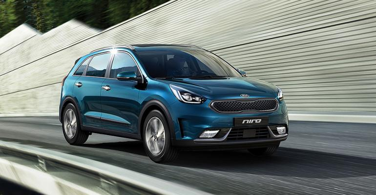 Niro hybrid accounted for nearly 75% of Kia's U.S. electrified-vehicle sales through June.