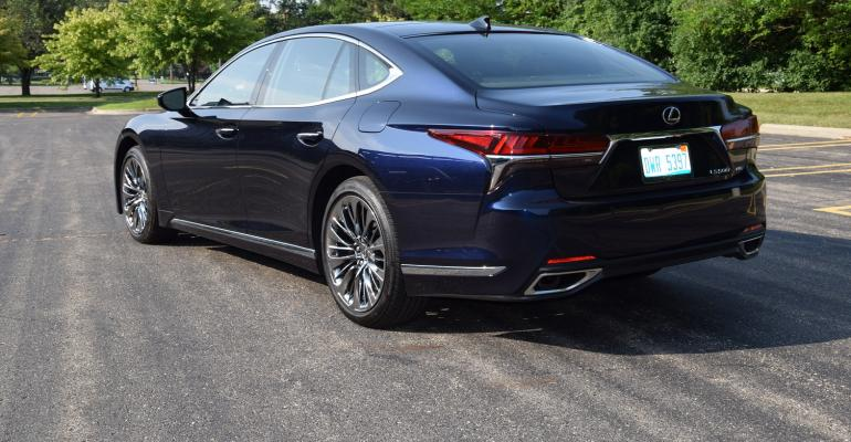 2018 Lexus Ls 500 Review Brushstrokes Ballyhoo And