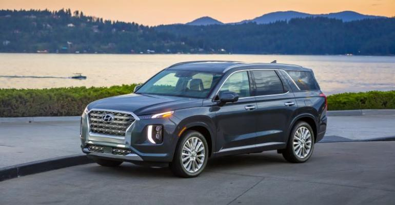 '20 Hyundai Palisade exterior