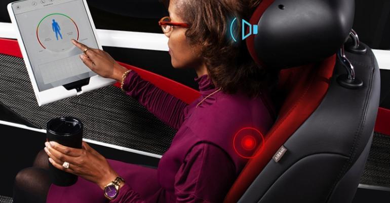 "Partnership will work to enhance Lear's Intu ""smart seat"" technology."