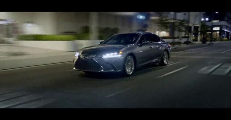 "Top-ranked Lexus ad contrasts ""excellence"" with ""mastery."""