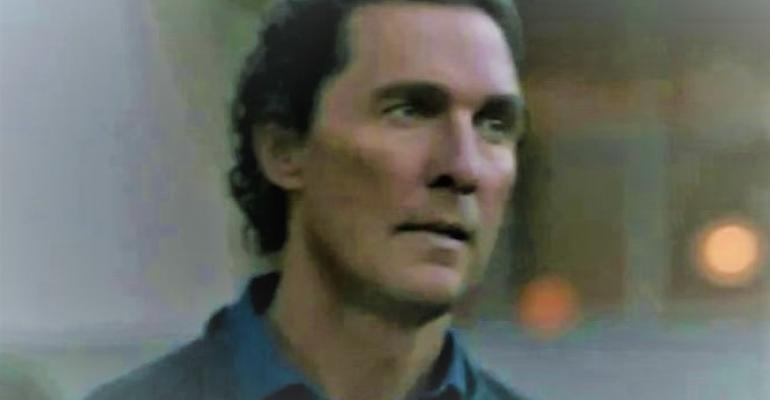 """McConaughey stars in Lincoln Nautilus ad titled """"Ultimate Control."""""""