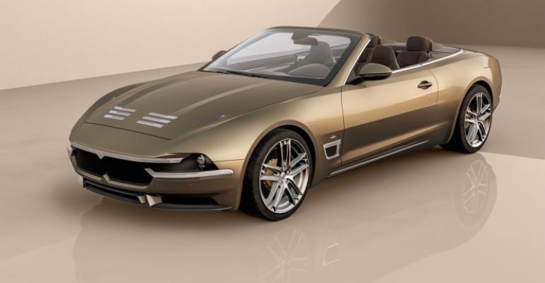 Maserati to build just 15 units of Superleggera.