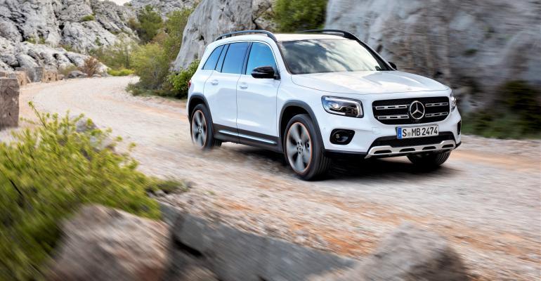 Mercedes-Benz Reveals GLB Compact SUV
