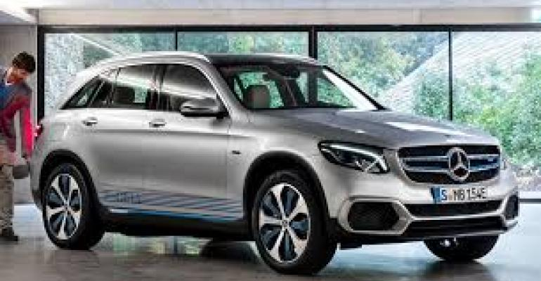 Mercedes GLC F-Cell one of two fuel-cell vehicles on European market.