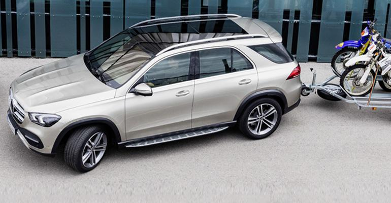 Mercedes-Benz pits new GLE against Audi Q7, BMW X5, Lexus RX.