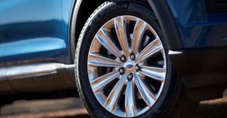 Michelin SelfSeal tire in Ford Explorer.jpg