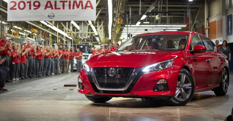 Nissan Launches All New Altima Production At Two U S