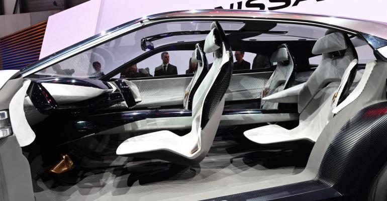 Nissan IMQ concept interior Geneva