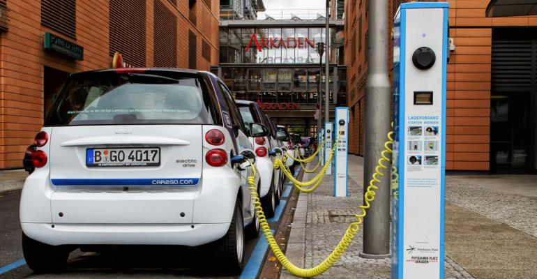 Fast-charging station in Norway can power up to 28 vehicles in about 30 minutes.