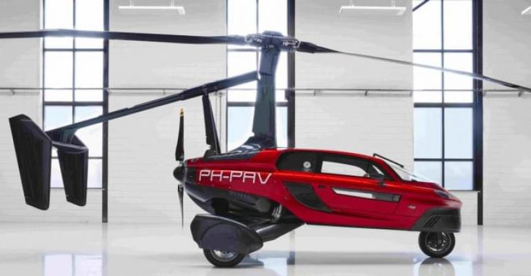 PAL-V Liberty flying car undergoing preproduction certification.