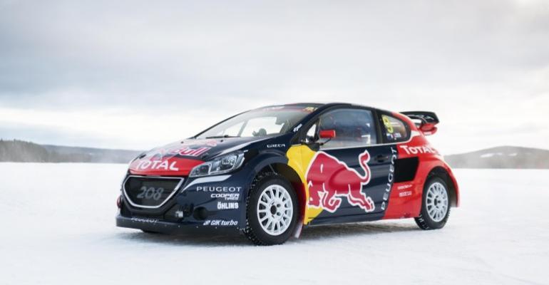 Peugeot quitting world rallycross championship.