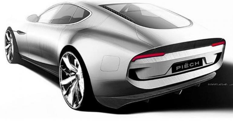 Concept's architecture suggests real-wheel drive.