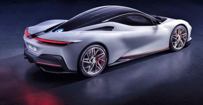 Exotic Pininfarina Battista EV Brings 1,900 HP | WardsAuto