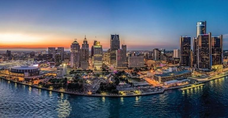 Detroit Skyline PlanetM