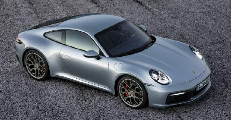 New gearbox, brake system would provide new-gen 911 with hybrid capability.