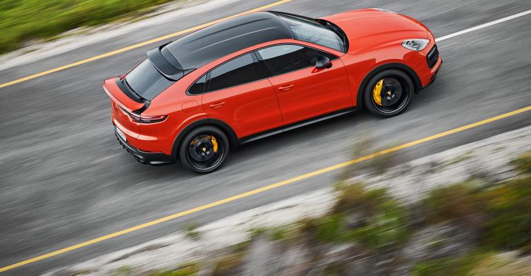 Third-generation Cayenne styling more sporty than current version.