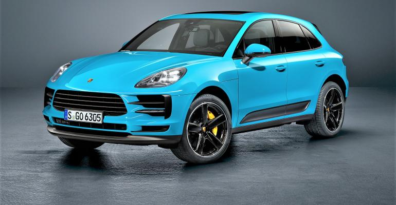 First-generation Macan received facelift in 2018.