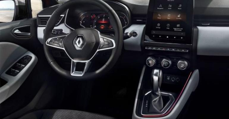 Renault says new Clio to offer eight possible interior design schemes.
