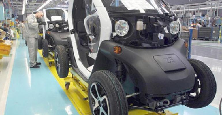 Production of slow-selling Twizy EV shifting from Spain to South Korea.