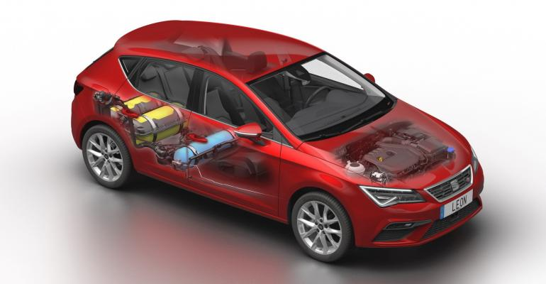 CNG-powered SEAT Leon TGI-Evo excluded from subsidy program.