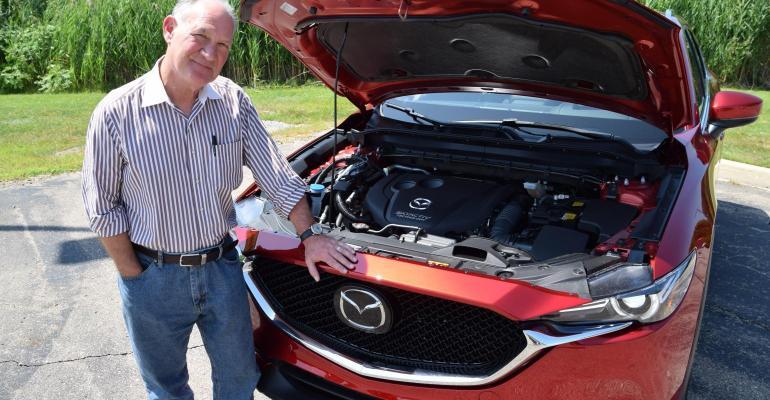 Steve Finlay 2019 .  Mazda CX-5 Diesel.jpg
