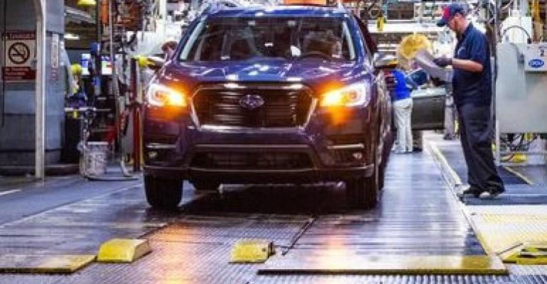 Subaru Ascent pic