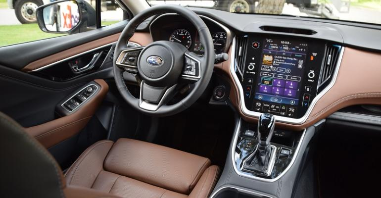 Subaru Outback cockpit.JPG