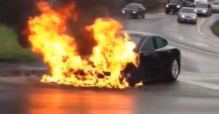 U.K. group calls for specialized training in extinguishing EV fires.