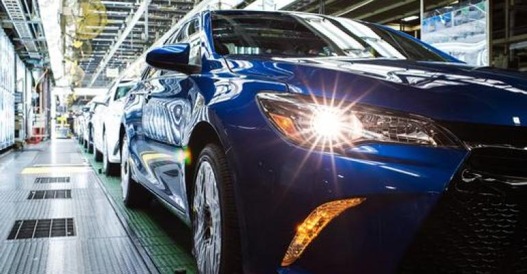 Toyota Camry production at Georgetown, KY