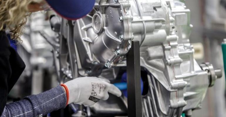 Poland-built hybrid transaxles bound for Toyota plants in U.K., Turkey.